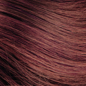 Auburn Brown Nano Bead Hair Extensions #33