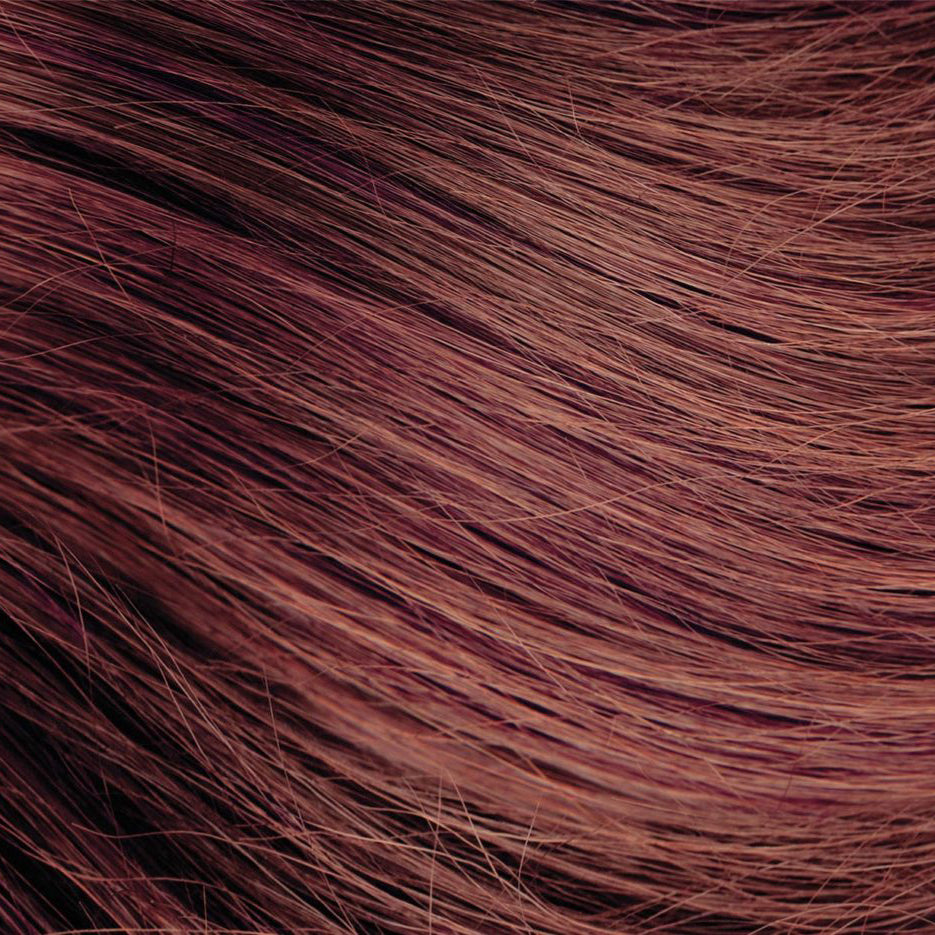 Light Auburn Brown Nano Bead Hair Extensions #37