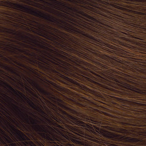 Medium Brown Hand Tied Weft Hair Extensions #5