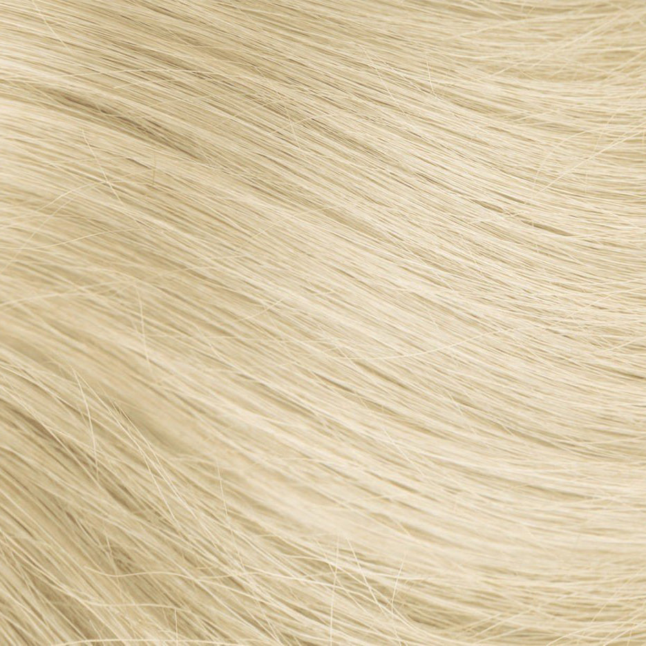Platinum Ash Blonde Itip Hair Extensions #60