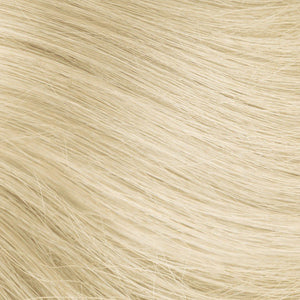 Platinum Ash Blonde Hand Tied Weft Hair Extensions #60