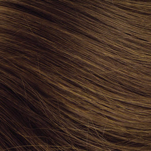 Medium Brown Hand Tied Weft Hair Extensions #6B