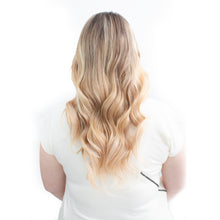 Load image into Gallery viewer, Golden Blonde Clip-In Hair Extensions #P18/22