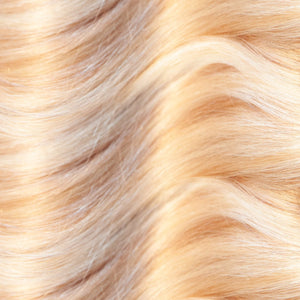 Golden Blonde Hand Tied Weft Hair Extensions #P18/22
