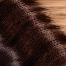 Charger l'image dans la galerie, Black/Brown to Blonde Ombre Hand Tied Weft Hair Extensions T2/10/24