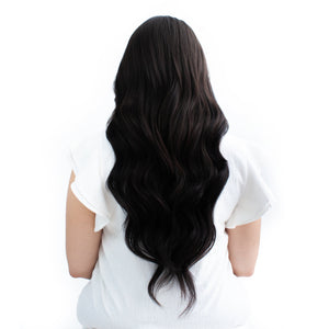 Classic Black Clip-In Hair Extensions #1
