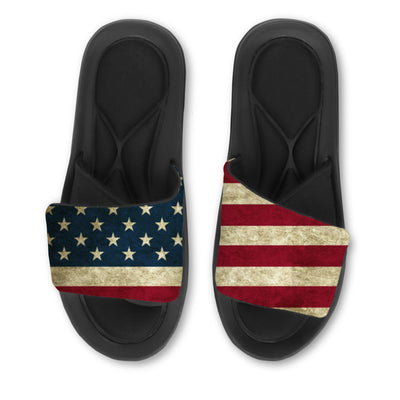 Custom Slides, Distressed American Flag, July 4th, Independence Day, Fourth of July
