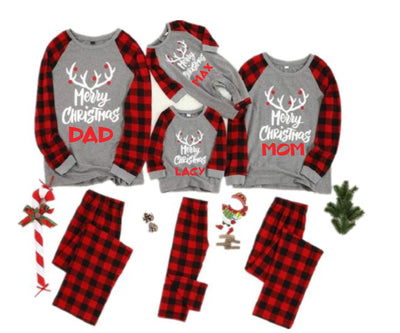 Family Matching Pajama Set Christmas Adult Kid Baby