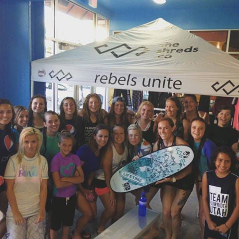 Ladies Night at Flowrider Utah July 20, 2016