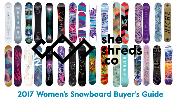 16 Snowboards That Every Girl Wants