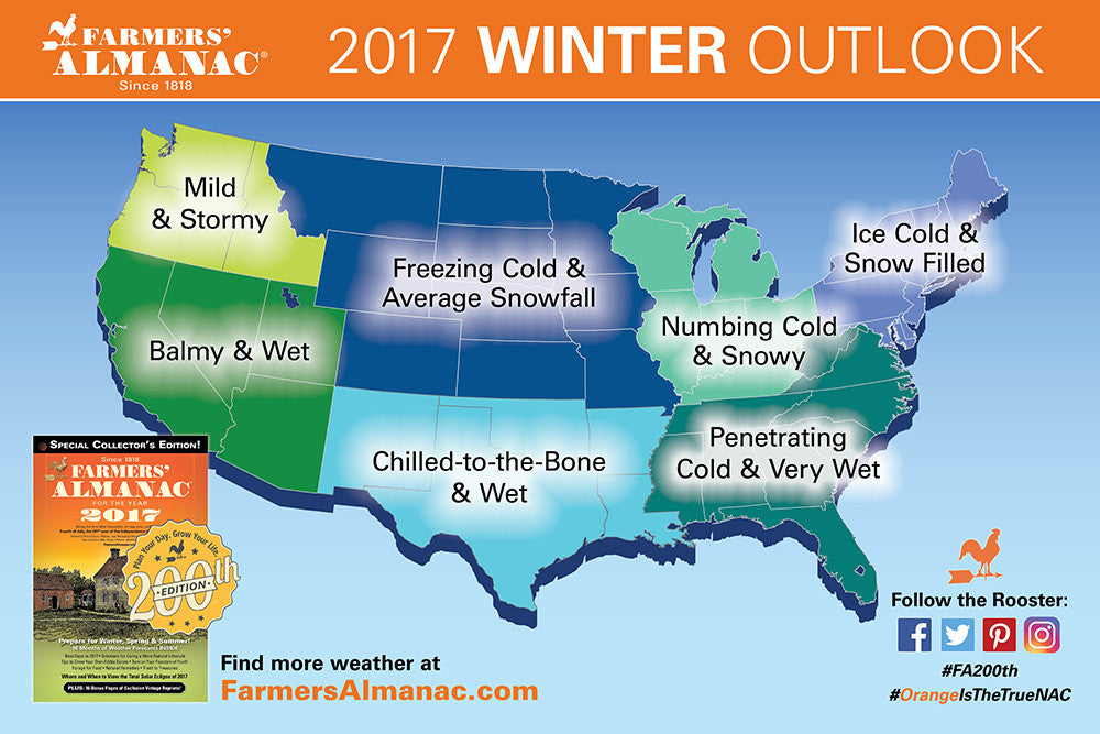 Getting Snow 20162017 US Winter Weather Predictions SheShredsco