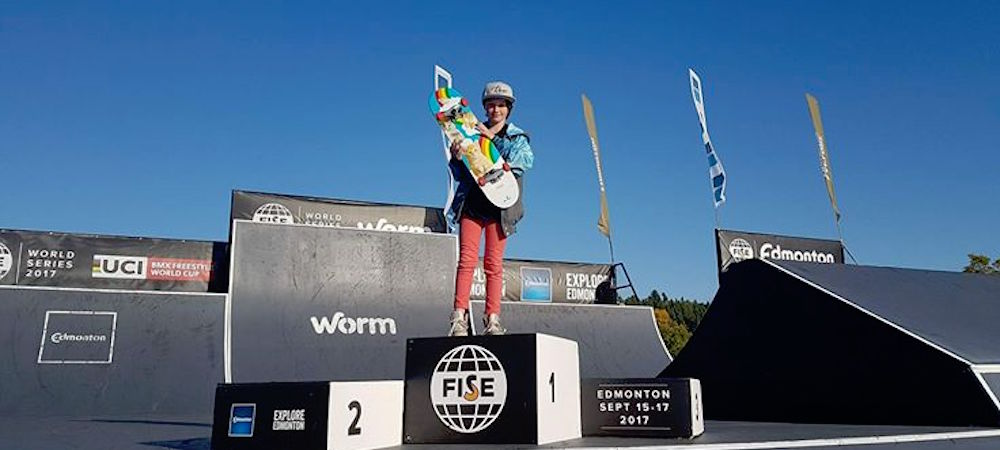 Ambassador Ava Cook at FISE World Series Edmonton