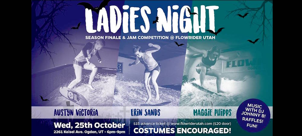 Gearing Up For the Finale: Flowrider Ladies Night Video Recap