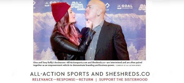SheShreds.co Featured in Valor Magazine