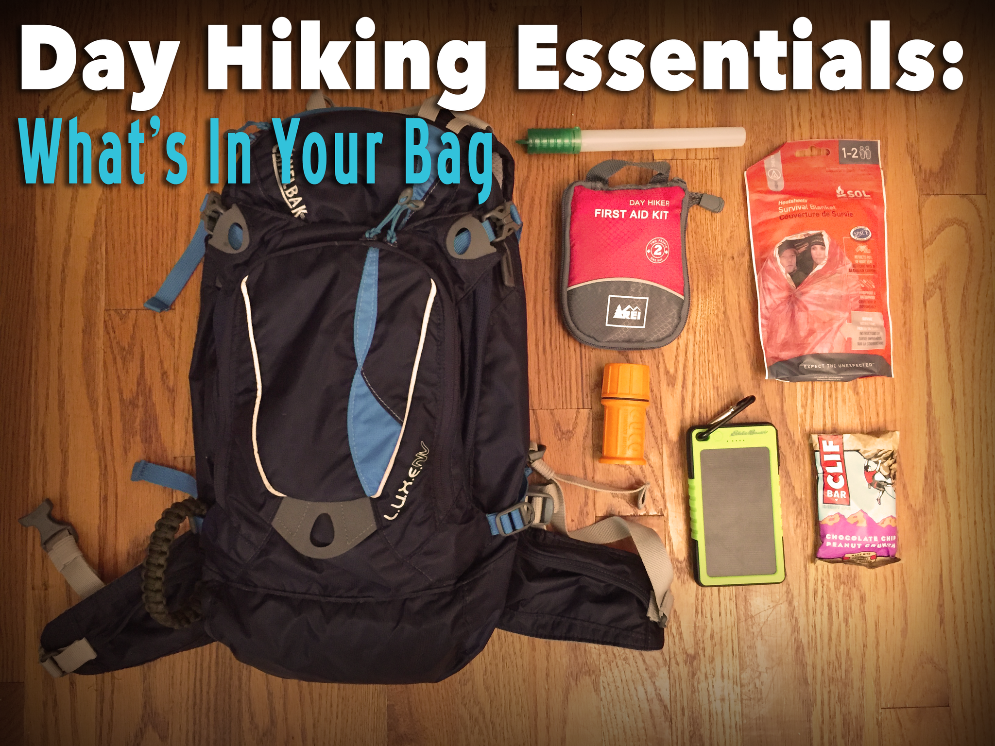 5 Women's Day Hiking Essentials - Part 2: What In Your Bag