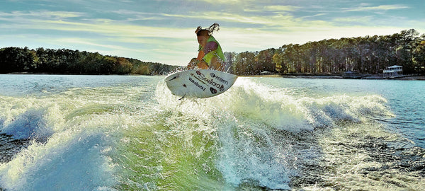 Ambassador Highlights: Wakesurfing!