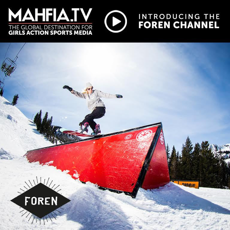 Team Athlete & Pro Snowboarder, Veroniqi Hanssen's Film Project: Foren