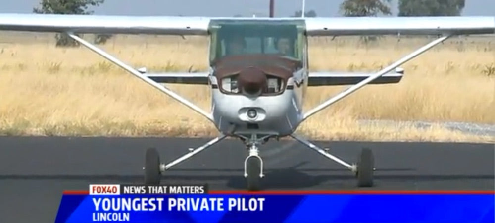 Amanda Vogt - America's Youngest Female Private Pilot