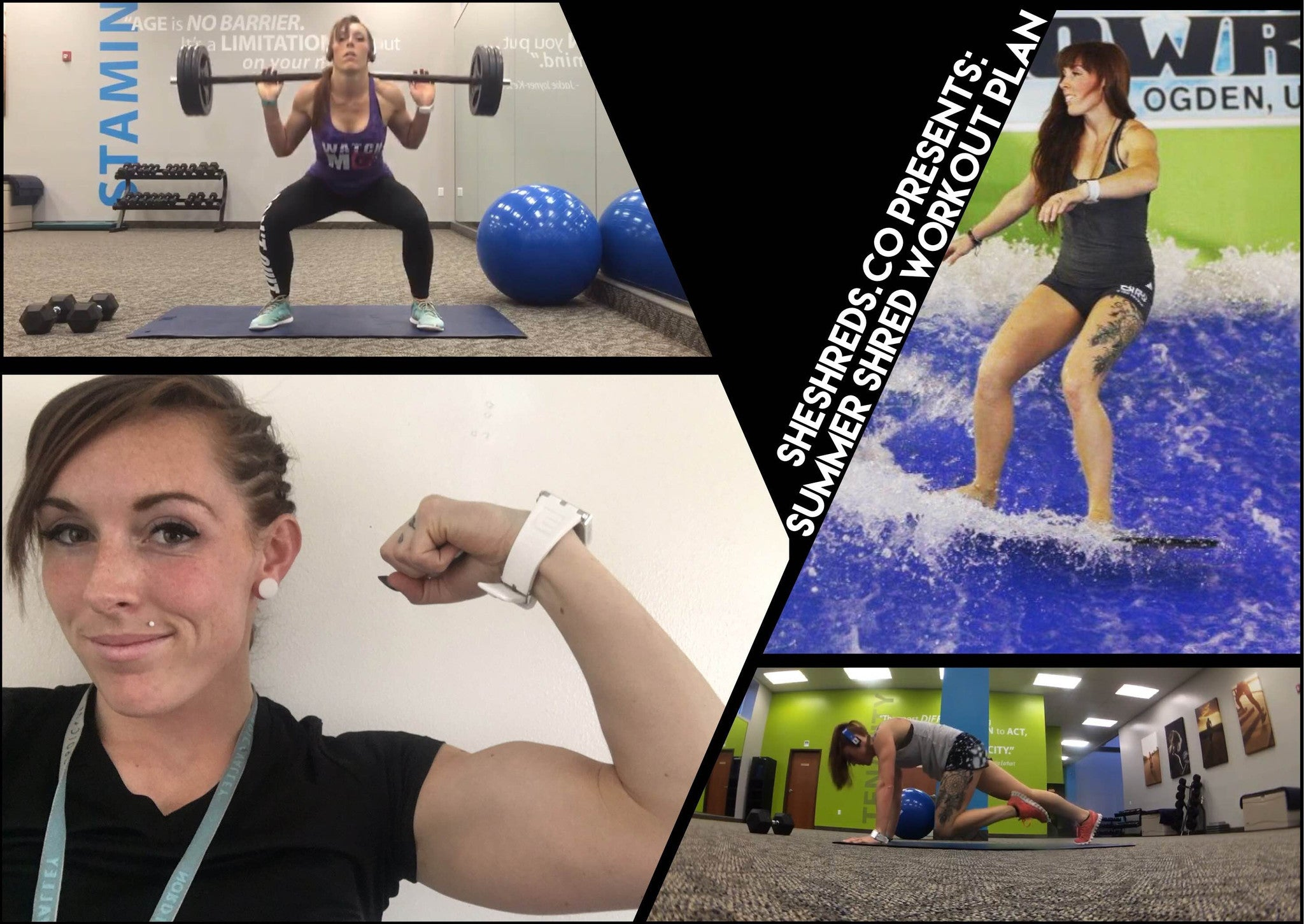 Fitness Tips & Schedule for Summer Board Sports with Pro Athlete Dee Spencer
