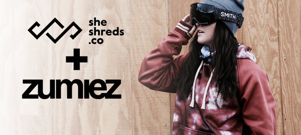 SheShreds.co Exclusive Line Launches in Select Zumiez Stores
