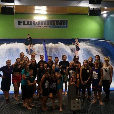 Ladies Night at Flowrider Utah - September 2016