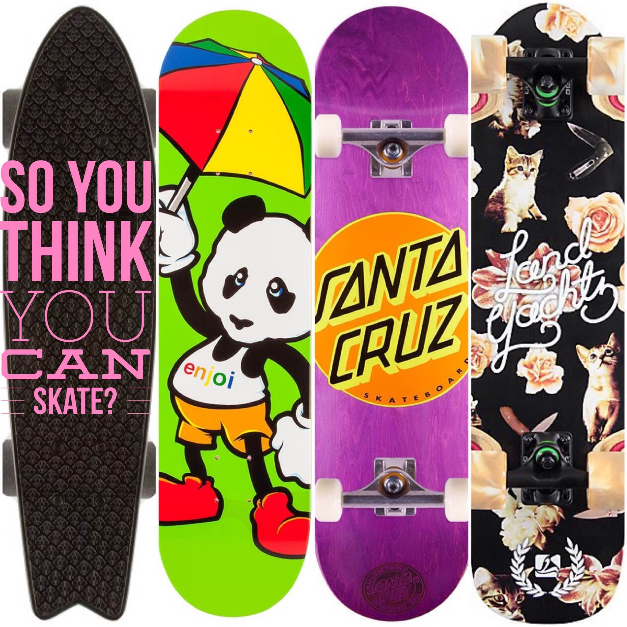 Can You Skate? - 3 Types Of Skateboarding