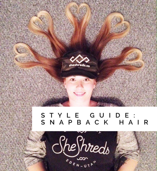 Style Guide: 3 Favorite Snapback Hair Looks