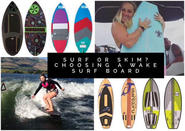 Surf or Skim? Wakesurf Boards that Women Love