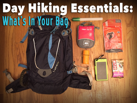 Day Hiking Essentials What's In Your Bag