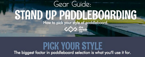 Women's Guide for Stand Up Paddleboarding