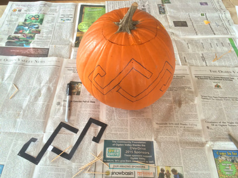 DIY SheShreds Pumpkin