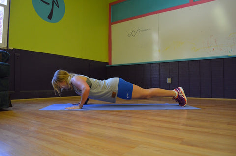 Planks and Pushups