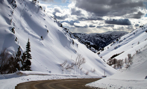 Powder Mountain Ski & Snowboard Resort in Utah