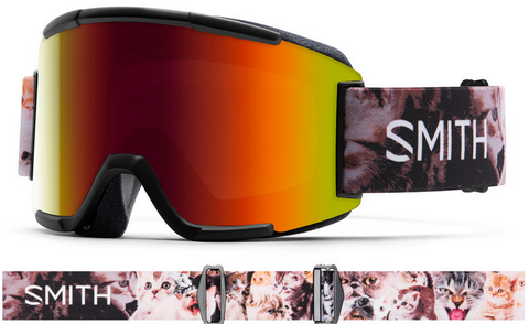 Smith Optics Squad Goggles with Cat Straps