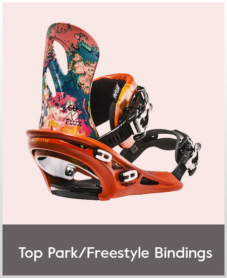 Top Park & Freestyle Bindings for Woman Snowboarding