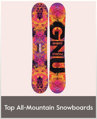 Top Female All Mountain Snowboards