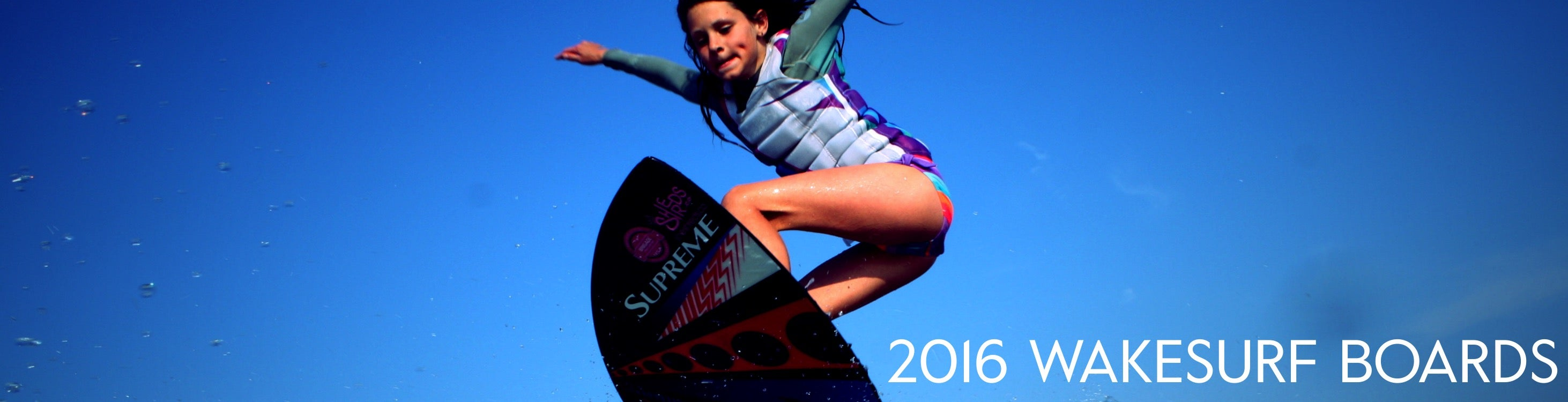 2016 WOMEN'S WAKESURF BOARDS
