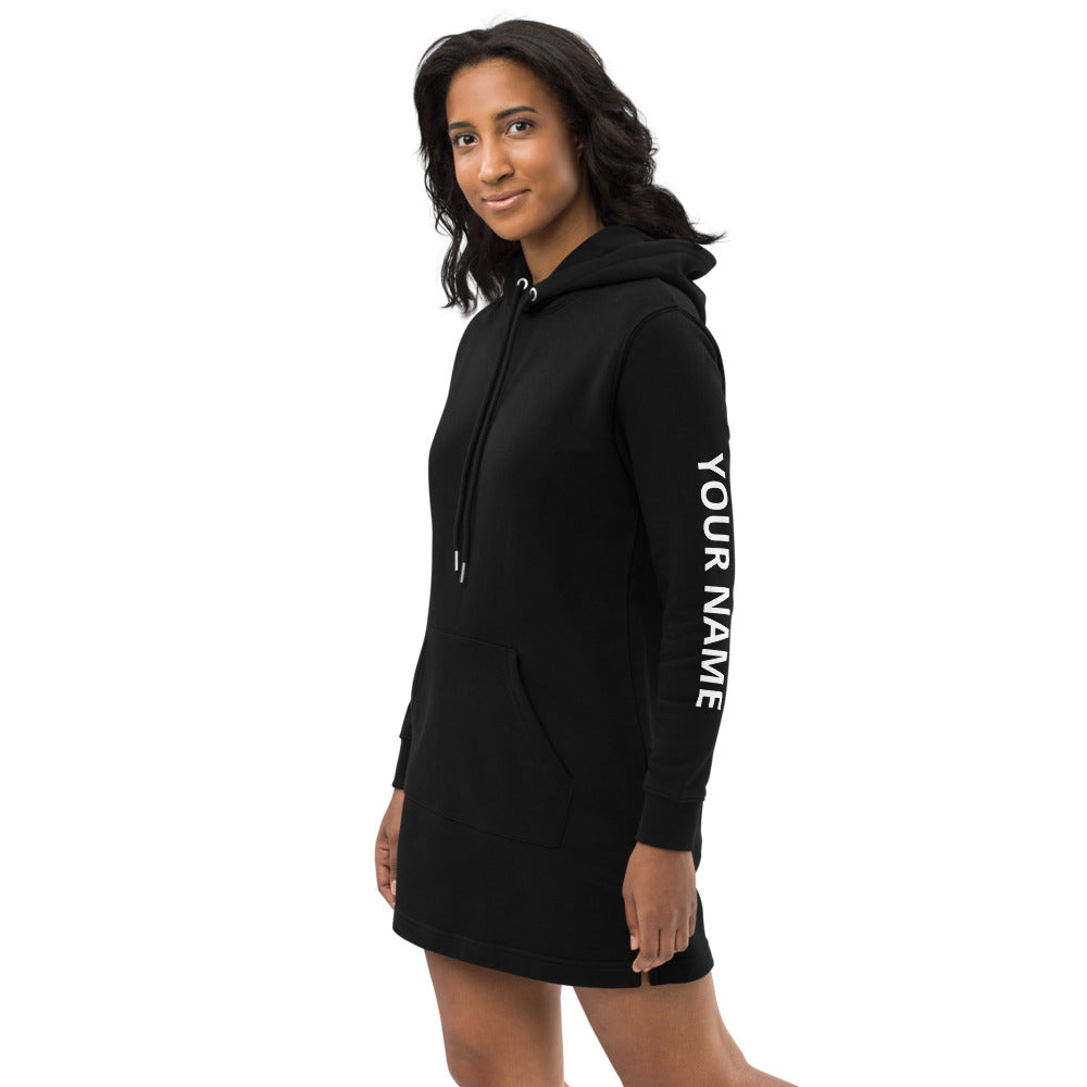 Amanda Hoodie dress - Wakeboard with your Name