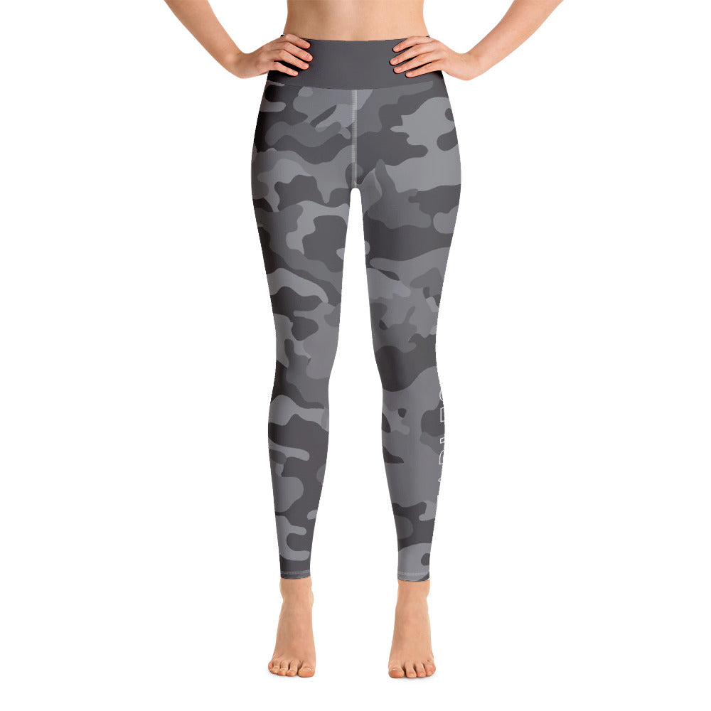 Katie Leggings - Grey Camo