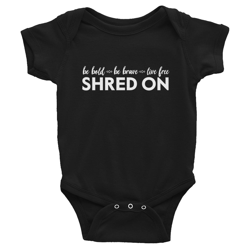Mini Shredder Baby Body Suit - Shred On