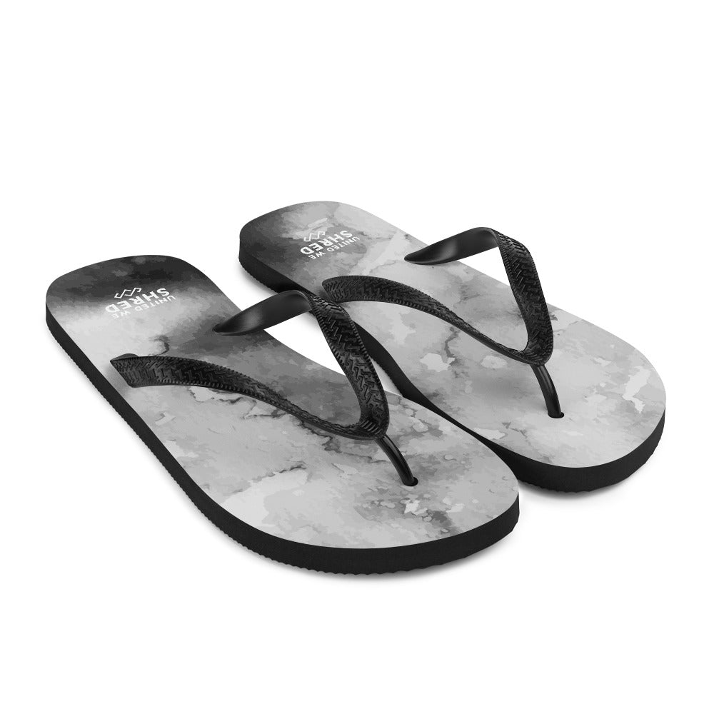 Kitty Flip-Flops - United Grey