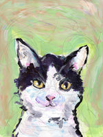 "***Custom Pet Portrait - 8""x10"" acrylic painting on canvas***"