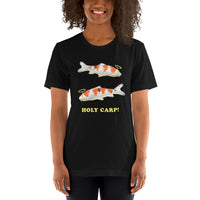 Holy Carp This Is A Punny Short-Sleeve Unisex T-Shirt