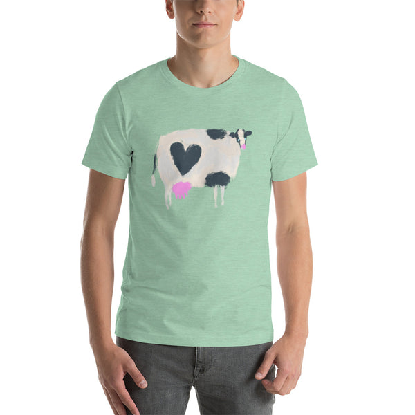 Mootastic Cow Love Short-Sleeve Unisex T-Shirt