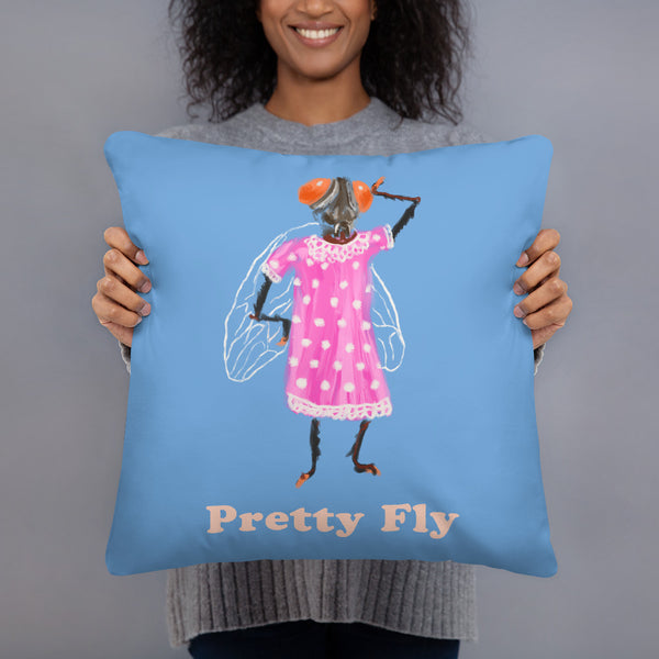 Pretty Fly Throw Pillow