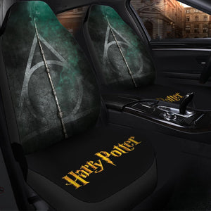 Harry Potter And The Deathly Hallows Car Seat Covers