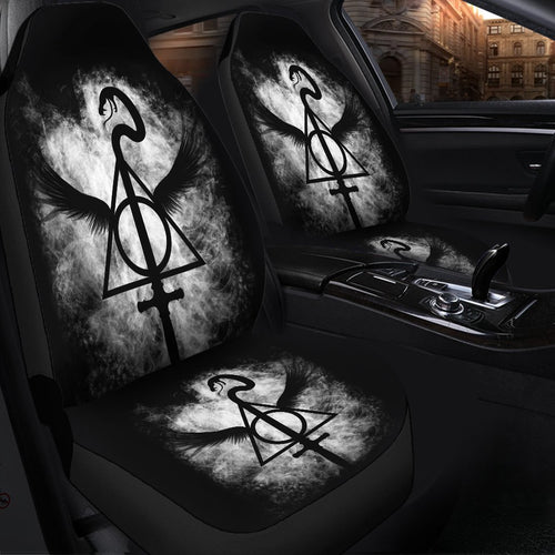Harry Potter Deathly Hallows Car Seat Covers