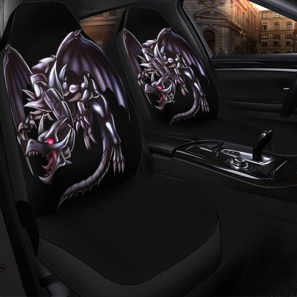 Red Eyes Black Dragon Yurioh Car Seat Covers