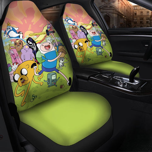 Adventure Time Anime Car Seat Covers 6