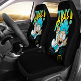 Tiny Funny Rick And Morty Cartoon Car Seat Covers